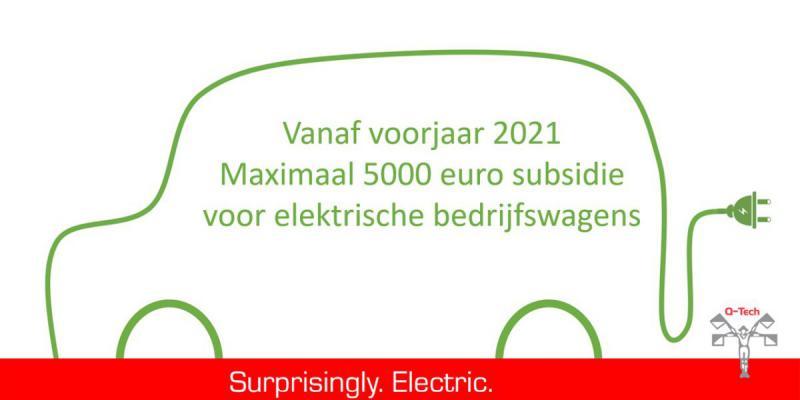 Elektrische bedrijfswagens, Electric, Zeroemission, uitstoot